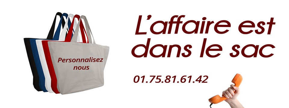 fabricant sac personnalisable
