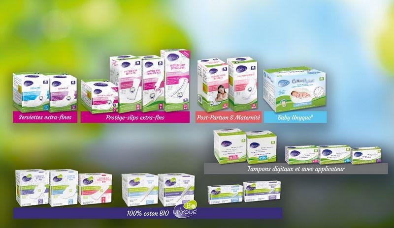 protection periodique en coton pour réduire les irritations intimes